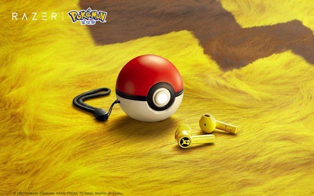 Increíbles audífonos de Pikachu.
