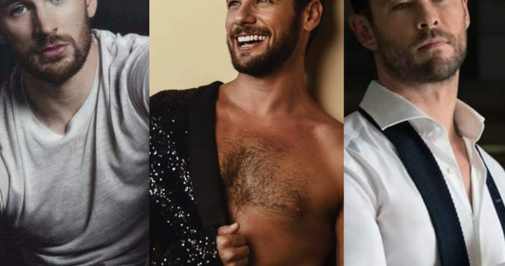 Andrés Wiese es nominado al rostro más bello del mundo y supera a Chris Evans y Chris Hemsworth