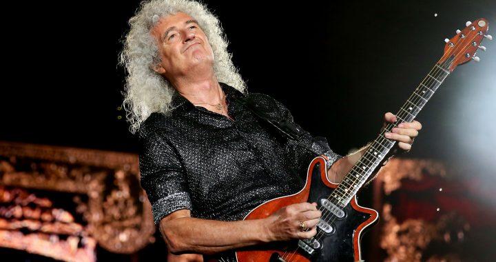 Brian May, guitarrista de Queen, se encuentra hospitalizado