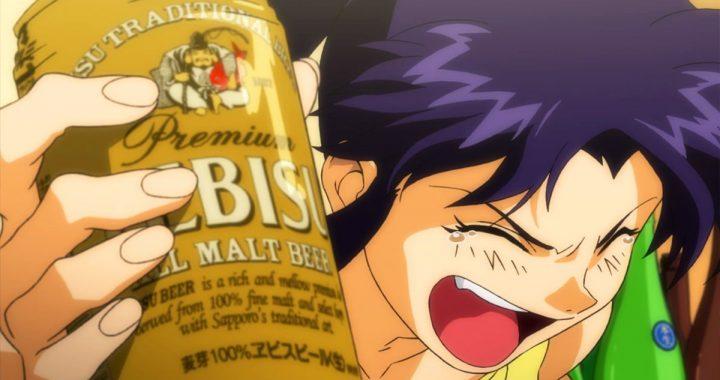 Neon Genesis Evangelion: ¿Sabes cuanta cerveza bebió Misato en toda la saga?