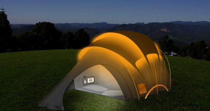 La carpa que todo amante de camping necesita