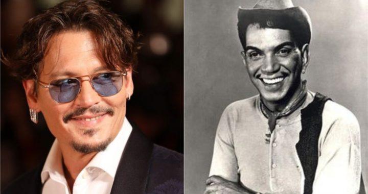 Johnny Depp quiere interpretar a 'Cantinflas' en una película biográfica de su vida