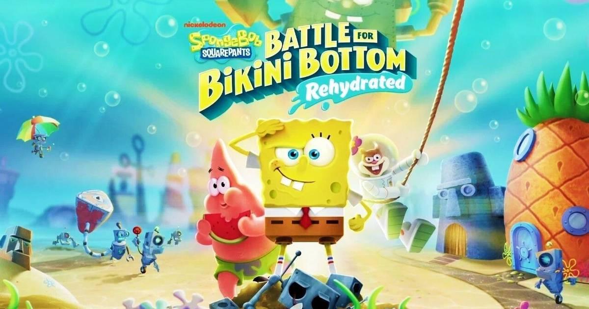 Bob Esponja protagoniza el tráiler de su nuevo videojuego multiplayer