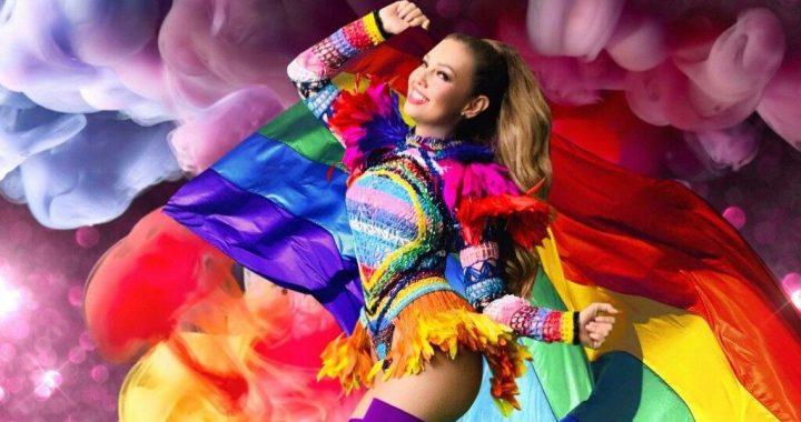 Thalía es elegida para dar el banderazo por la marcha de Orgullo LGBTQ