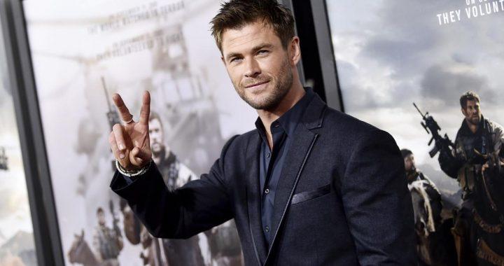 Chris Hemsworth también elogió al niño que salvó a su hermanita del ataque de un perro