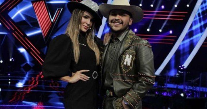"""Belinda y su nuevo amor, Christian Nodal, cantarán juntos en """"La Voz"""""""