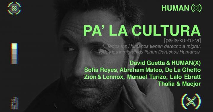 Thalía, David Guetta y más artistas celebran diversidad con «Pa' la cultura»