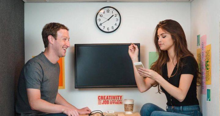 Selena Gomez le escribió a Mark Zuckerberg y le pidió ayudar a detener el odio en redes sociales