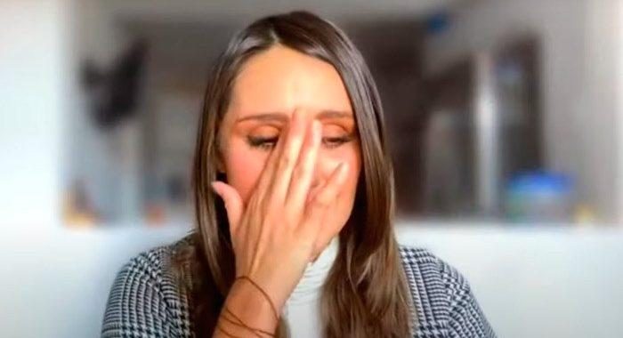 Dulce María se conmueve hasta las lágrimas con mensaje de su madre y hermana