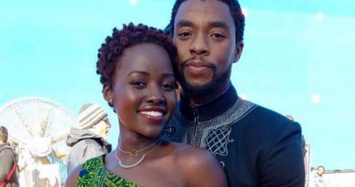 Lupita Nyong'o rindió tributo a Chadwick Boseman e hizo una tierna promesa
