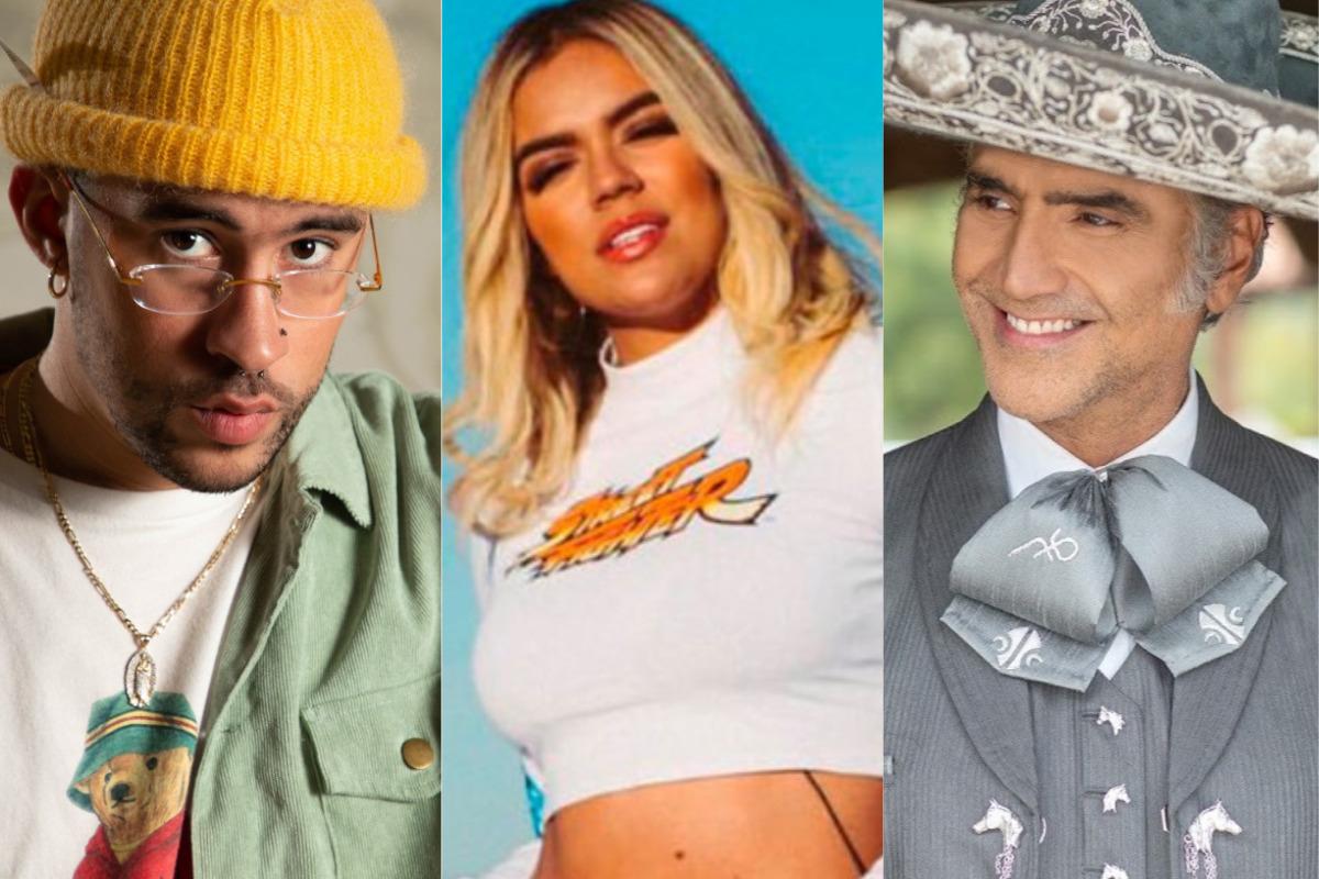 Bad Bunny, Karol G y Alejandro Fernández cantarán en los Latin Grammy