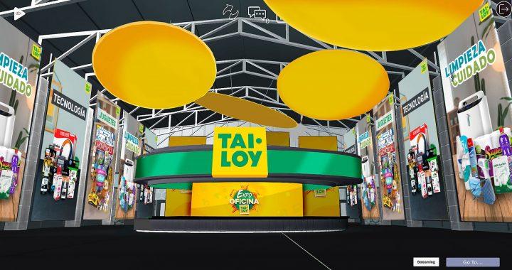 Tai Loy se reinventa y presenta Expo Oficina virtual de tercera dimensión