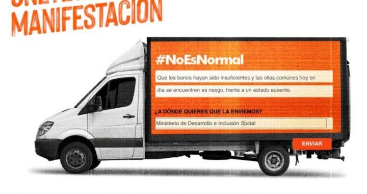 Marcha Delivery: Primera manifestación que busca visibilizar denuncias de los peruanos en la pandemia