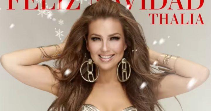 Thalía adelanta la Navidad con un tema bilingüe con ritmos de merengue electrónico