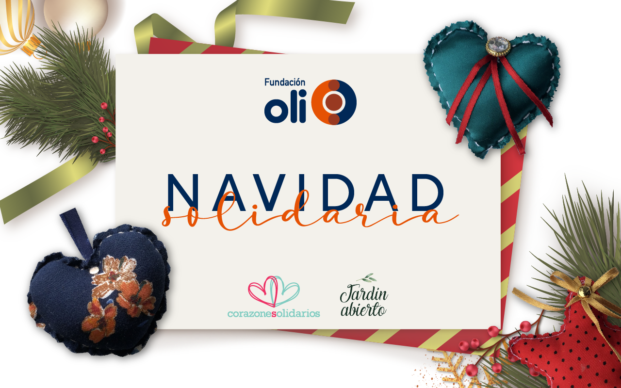 Participa en una Navidad Solidaria junto a Fundación Oli
