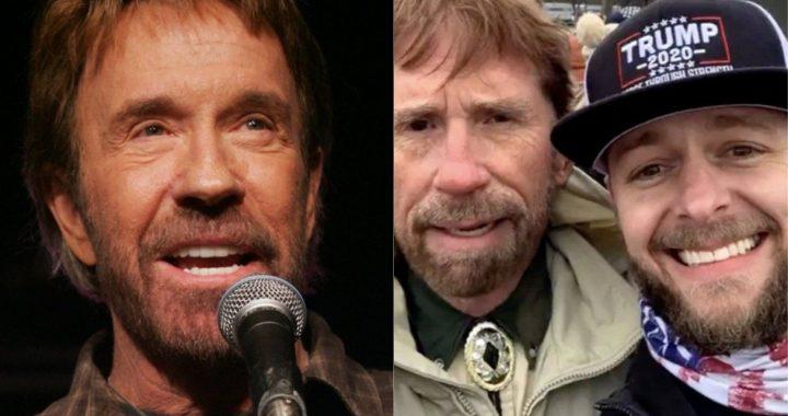 """Chuck Norris tuvo que aclarar que no estuvo en la toma del Capitolio por culpa de """"un doble"""""""