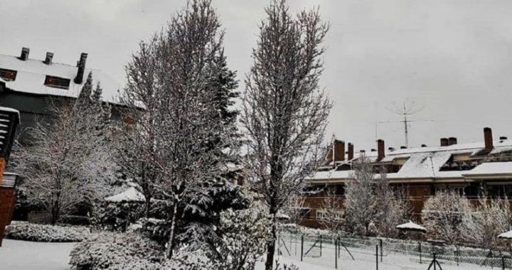 España: fenómeno de Filomena genera intenso nevado en el país