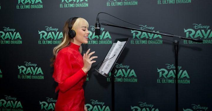 Danna Paola será la voz de la protagonista de «Raya y el último dragón»