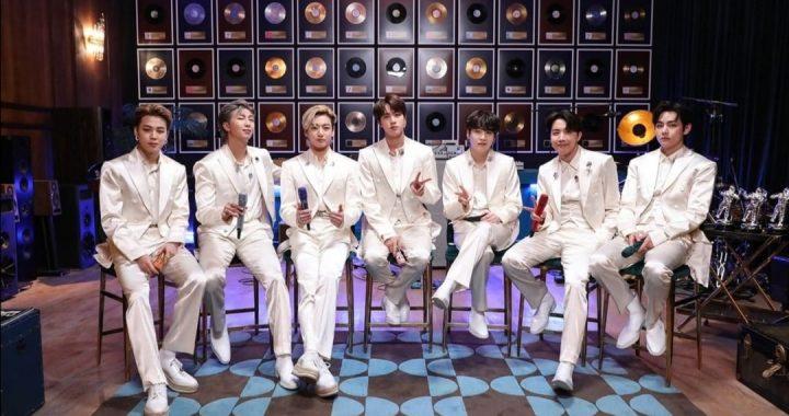 MTV Unplugged: BTS rinde homenaje a Codplay con la canción «Fix You»