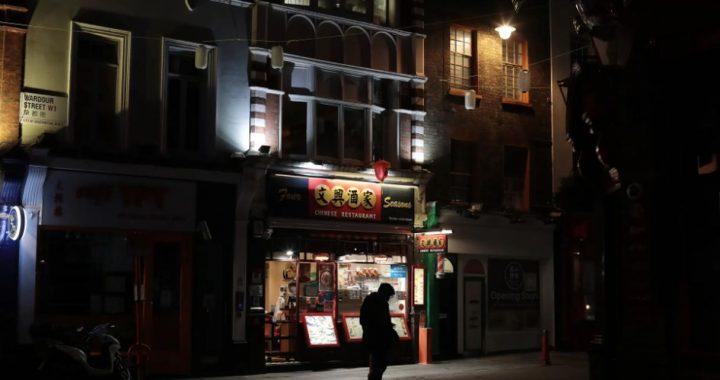 Chinatown de Londres recibe el año del buey con sus calles casi vacías