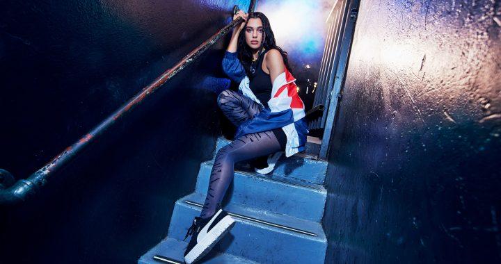 Dua Lipa es la imagen de Puma para el lanzamiento de las zapatillas Mayze