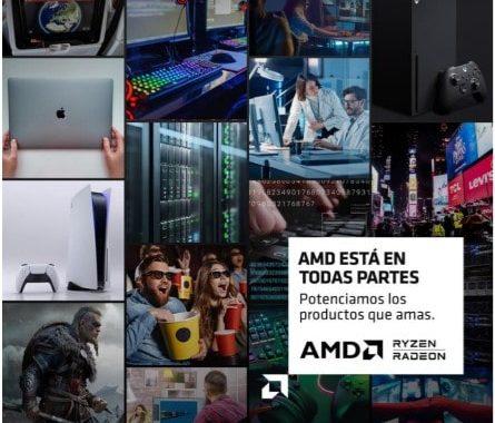 """""""AMD está en todas partes"""", la nueva campaña de AMD para visibilizar los desarrollos tecnológicos del sector"""