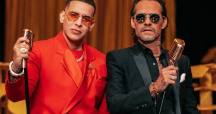 """Daddy Yankee será el invitado especial de Marc Anthony para su show virtual """"Una Noche"""""""
