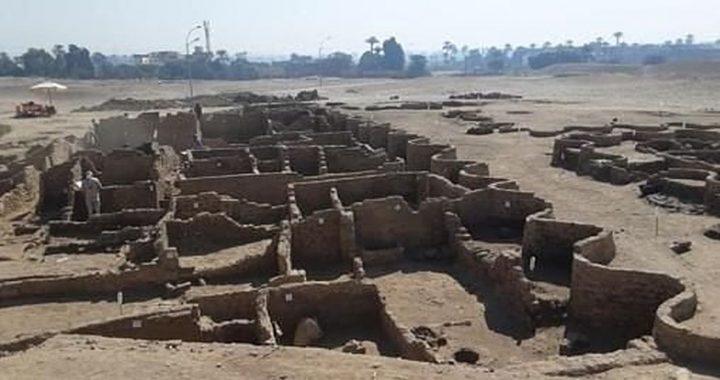 Conoce la «ciudad perdida» de Luxor recién desenterrada en Egipto
