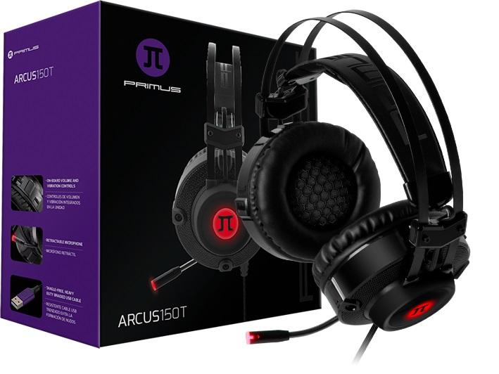 Arcus 150T, los auriculares gamer de PRIMUS Gaming ya se encuentra disponible en Perú