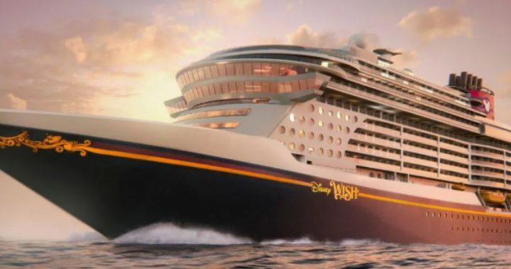 """""""Disney Wish"""", el nuevo crucero de la compañía, debutará en 2022"""