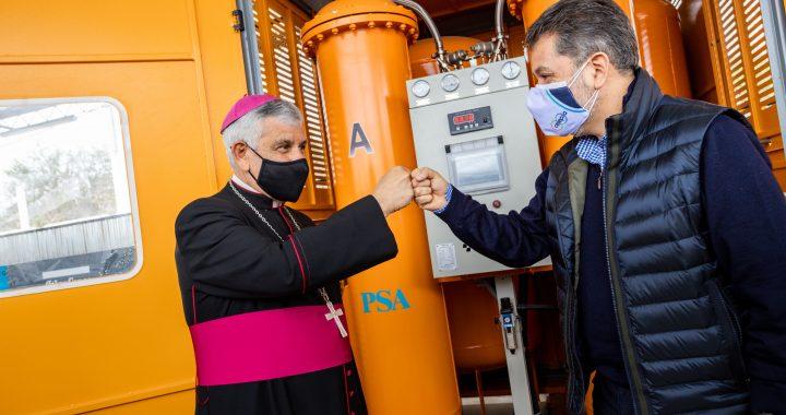 Celepsa dona planta de oxígeno para atender a pacientes de la covid-19 en  Cañete