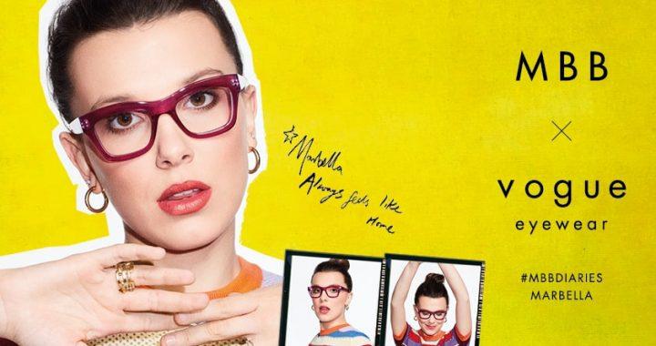 GMO lanza nueva colección de Vogue Eyewear co-creada con la actriz Millie Bobby Brown