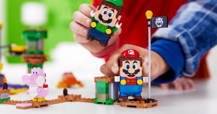 El Grupo LEGO permitirá conectar el universo de Super Mario y Luigi