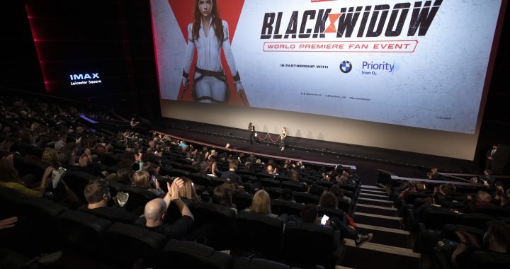 Black Widow de Marvel tuvo su premiere Global con fans
