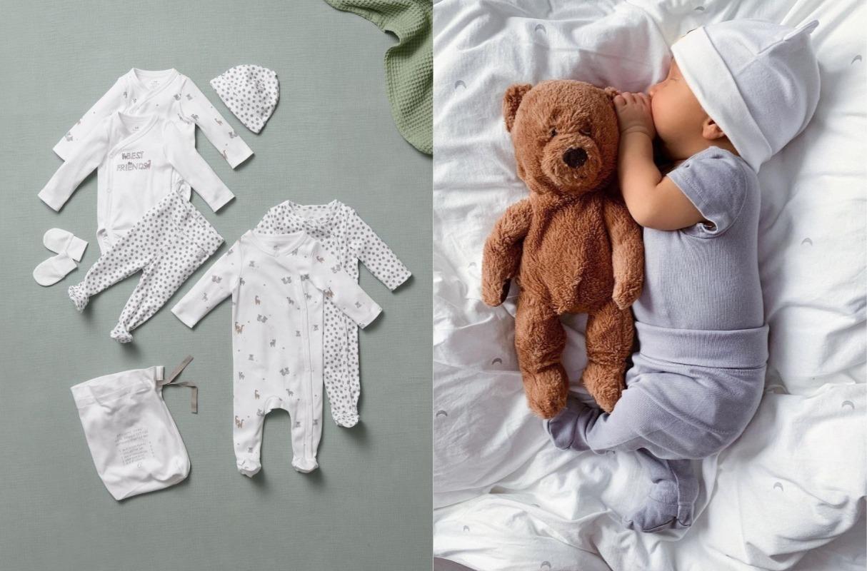H&M lanza al mercado prendas que crecen con el bebé