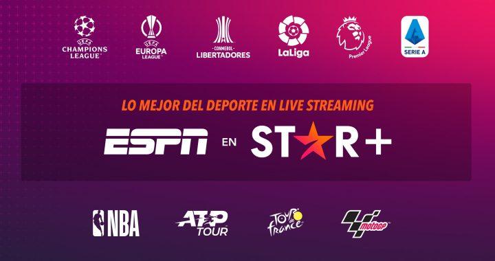 Star+ presenta propuesta de streaming que combina el deporte de ESPN con los estrenos exclusivos de la plataforma