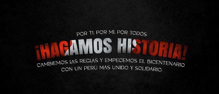 """Fundación Oli lanza su campaña """"¡Hagamos Historia!"""" por el bicentenario del Perú"""