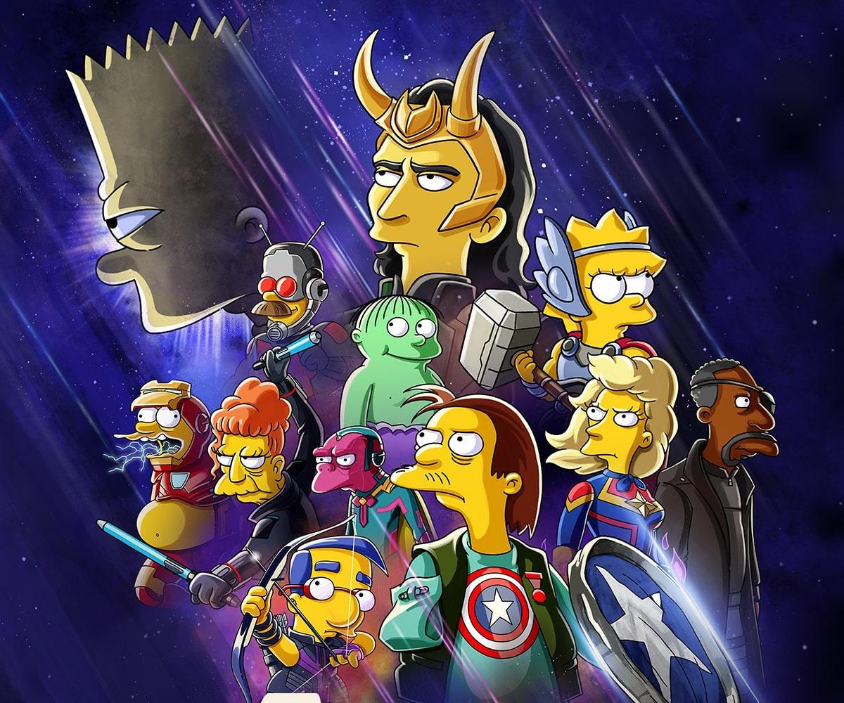 El corto «El Bueno, El Bart y El Loki» llega a Disney+