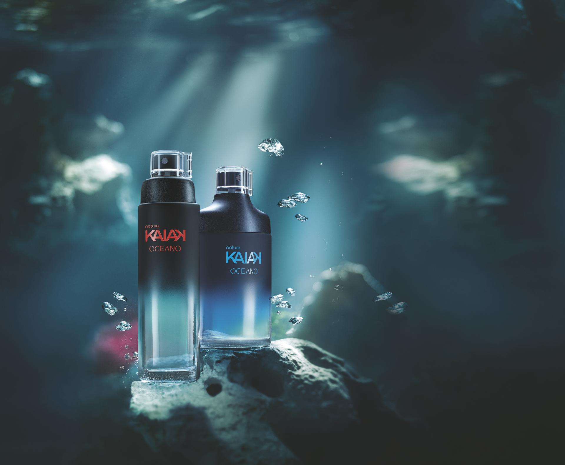 Conoce los nuevos perfumes de Natura inspirados en los océanos