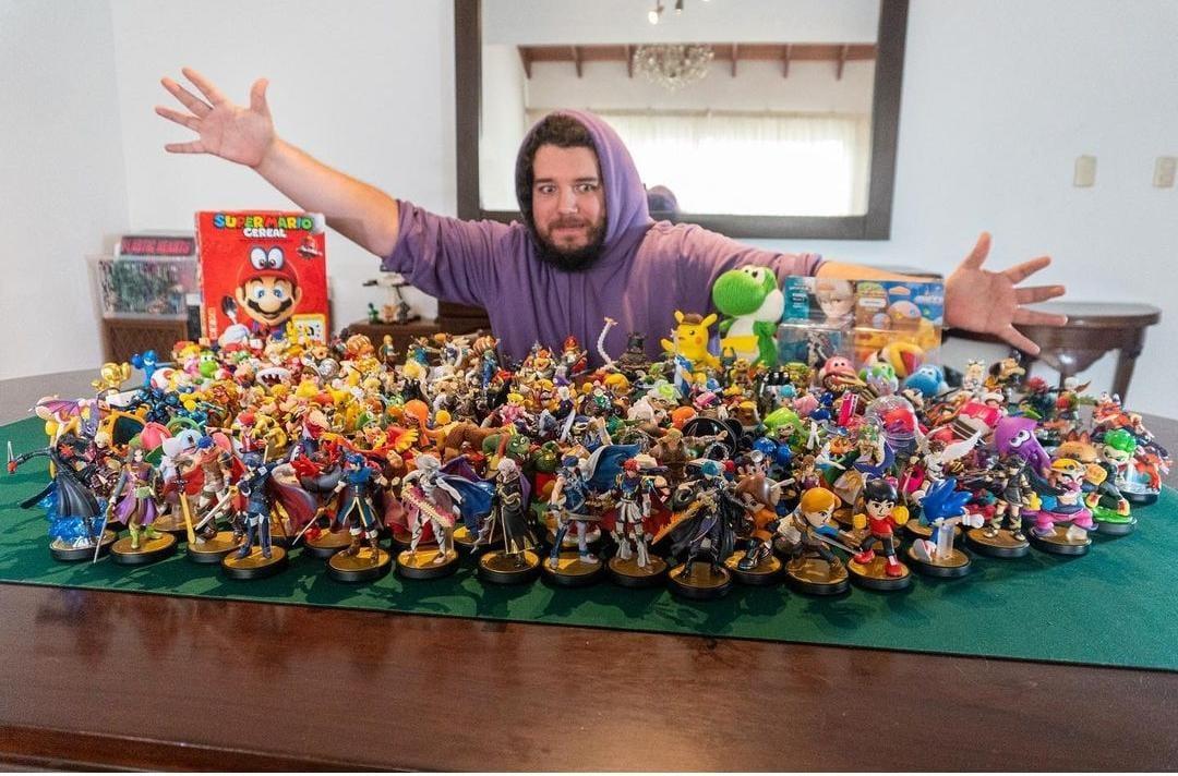 El unboxing más grande de figuras amiibo  de Nintendo se realizó en Perú