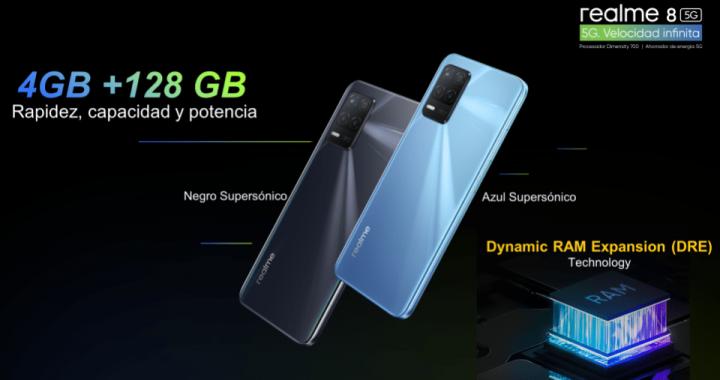 realme 8 5G: El smartphone con última tecnología que posee una de las mejores pantallas y rendimiento