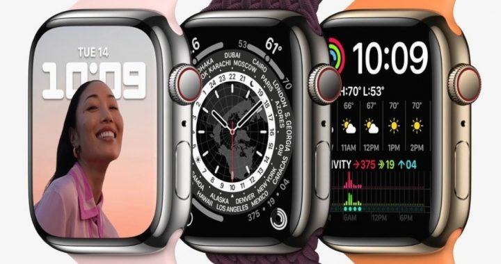 Apple presenta el reloj Apple Watch Series 7, con la pantalla más grande