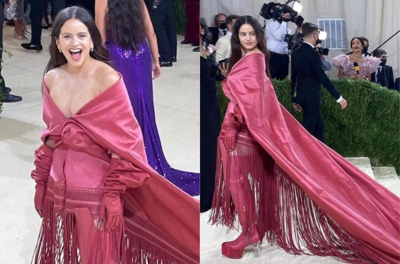 Met Gala de Nueva York: Rosalía lleva el mantón de Manila a la ceremonia