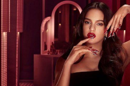 Rosalía en la nueva colección de M.A.C / EFE