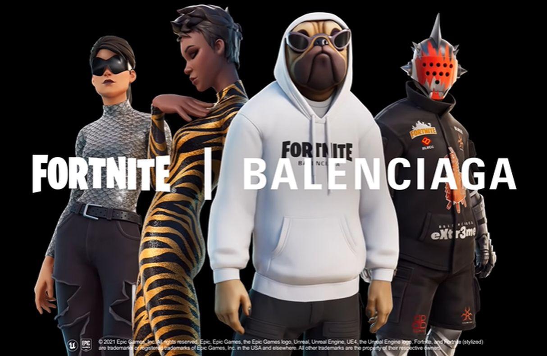 Balenciaga lleva la alta costura al mundo digital de «Fortnite»