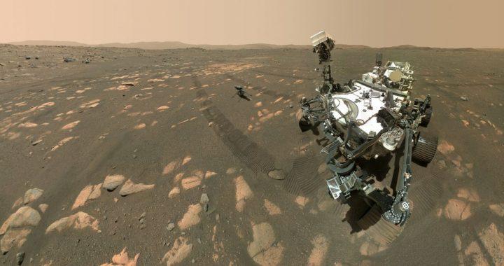 Rover Perseverance de la NASA recoge la primera muestra de Marte